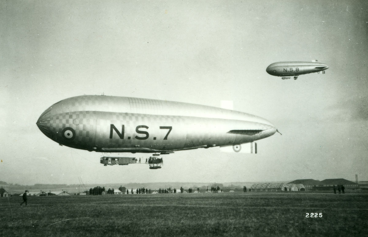 The Airship Service in WWI