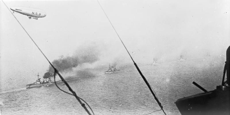 N.S.8 above German Fleet