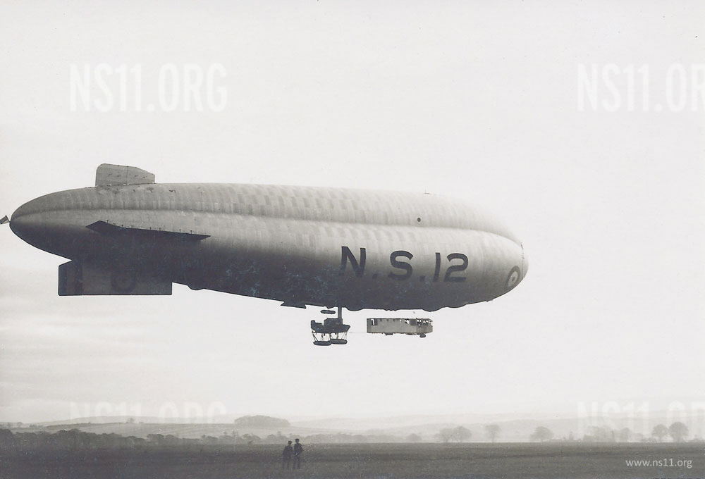 N.S.12 in flight