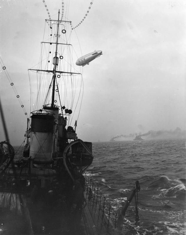 NS8 flying over German Fleet